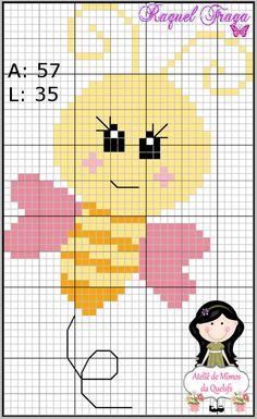 only animals in cross stitch Kawaii Cross Stitch, Cross Stitch Baby, Cross Stitch Animals, Cross Stitch Cards, Cross Stitching, Cross Stitch Embroidery, Pixel Crochet Blanket, Tapestry Crochet, Beading Patterns