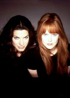 Remember Practical Magic?  If you haven't watched it lately, you should because the hair is just amazing.