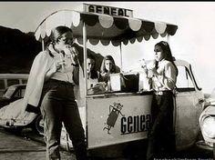 Geneal em Ipanema, anos 70