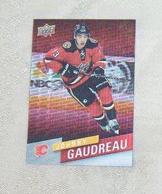 Johnny Gaudreau Franchise Force FF-4  2015-16 Upper Deck  Hockey Tim Hortons #CalgaryFlames