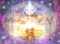 """What is heaven like? God=Jesus throne room is there.: """" At once I was in the Spirit, and there before me was a throne in heaven with someone sitting on it."""" Revelation 4:2."""
