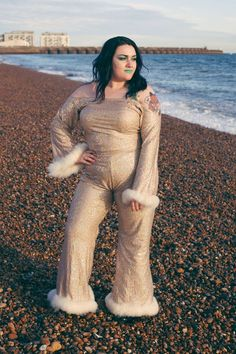 The Cher 2 Piece |Plus size co-ords,plus size separates,plus size flares,plus size top,bardot top,ma Bardot Top, Marketing And Advertising, Plus Size Outfits, Sequins, Trending Outfits, Jumpsuits, Etsy, Fashion, Large Size Clothing