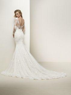 Vestido de noiva costas redondas