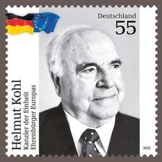 Helmut Kohl, German Stamps, Historia Universal, Mr President, Head Of State, My Youth, My Stamp, The Good Old Days, Kohls