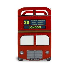 Lixeira Ônibus Londres