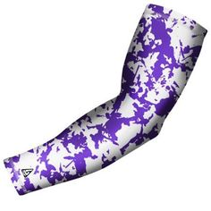 B-Driven Sports Pro Fit Compression Arm Sleeve Flaked Camo (Green) Available in many color options and 5 sizes including youth, Kids Unisex, Size: Large