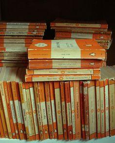 orange penguins by Kate Baxter on Flickr