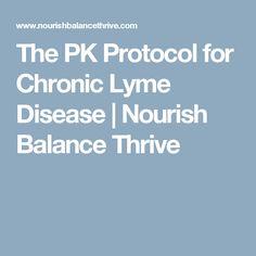 The PK Protocol for Chronic Lyme Disease | Nourish Balance Thrive