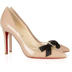 CHRISTIAN LOUBOUTIN Love Me 100 leather and mesh pumps  ¥208