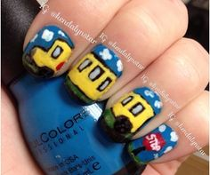 Back to School Nails School Nail Art, Back To School Nails, Awesome Hair, Hair And Nails, Class Ring, Cool Hairstyles, Nail Designs, Fancy Hairstyles, Gorgeous Hair