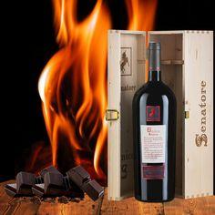Chocolate flavors with fine red wine #food #wine #senatorevini