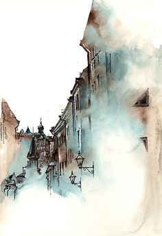 The exquisite watercolour renditions of worldwide architecture, by Sunga Park — Kuvva Blog