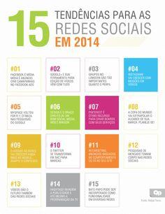 15 tendências para as redes sociais em 2014