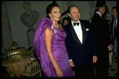 Jacqueline and Edouard de Ribes. Photo by Robert Bourguet, 1991.