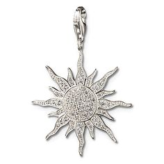 Thomas Sabo Sun Pendant with Lobster Clasp