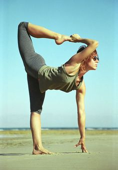 asymmetrical backbend..did this yesterday :)