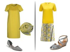 Chic Sightings: Grey and Yellow | The Vivienne Files