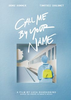 Call Me By Your Name alternative poster #callmebyyourname #cmbyn