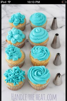 """These are how cupcakes should look """"but no ones perfect, I'm talkin about me.."""