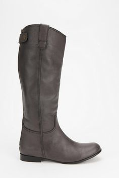 Grey Boots! // Urban Outfitters, BDG Tall Leather Boot
