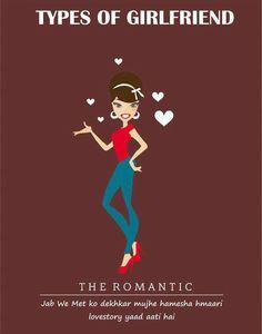 The Romantic Types of #girlfriend  #GFRIEND #gftweet #factsnotfear #fact