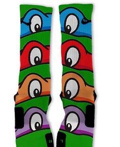 Ninja turtle socks