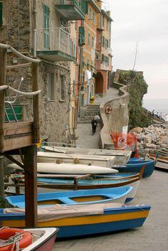 Cinque Terre, Riomaggiore, Italia