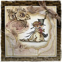 LOTV Wedding Couple - http://www.liliofthevalley.co.uk/acatalog/Stamp_-_Wedding_Couple.html