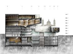 Primer Lugar Concurso Internacional: Ampliación del Teatro Colón de Bogotá, Colombia,Cortesía de LÓPEZ Y MONTOYA ARQUITECTOS
