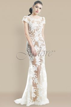 Simply beautiful. Available at The Ultimate Bride