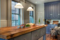Kitchen, Solid Wood Countertop Small Kitchen Design Ideas Pinterest Wood Kitchen Cabinet Drawer: Charming 14 Design for Small Kitchen Spaces 2015 Style