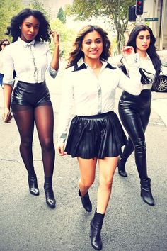 Fifth Harmony photoshooting in Surry Hills