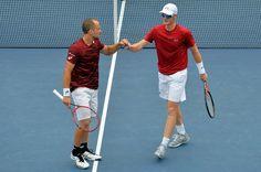 Bruno Soares e Jamie Murray no US Open 2016 (Foto: AFP)