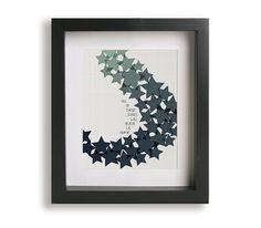 All Of The Stars / Ed Sheeran - Music Lyric Art Print - gift idea, home decor, wall art, wall decor, wedding gift, song lyrics, modern art by LyricalArtworks on Etsy