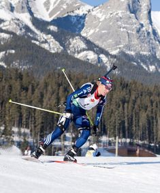 Skiing then shooting then skiing then shooting. Curious about this shooting sport on skis? Look no further for a primer on how biathlon works and who to cheer for at the 2018 Pyeongchang Winter Olympics Shooting Sports, Winter Olympics, South Korea, Victorious, Mount Everest, Skiing, It Works, Guns, The Incredibles