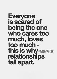 55 Best Scared Of Love Images Words Proverbs Quotes Thinking