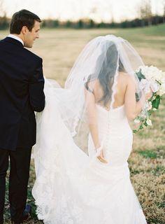Photography: Brett Heidebrecht // Dress and Veil: Mariee