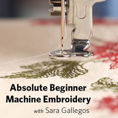Learning to sew can be intimidating for a beginner, especially if you don't know where to start. Machine embroidery even for someone who's been sewing for awhile can be confusing. I never thought I would take up machine embroidery. It looked too complicated and stabilizers! So many to choose from! I'll mess up the project…