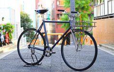 Compañera de aventuras: la Metropolitan Blue Lug de Affinity Cycles.