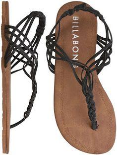 Mujer a la moda: Actualidad, moda, y todo para la mujer: Sandalias Billabong para este verano 2013