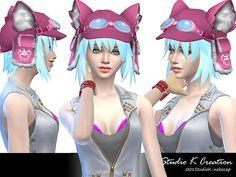 Neko Cap at Studio K-Creation • Sims 4 Updates