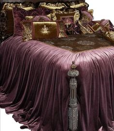 Old World Tuscan Style High-End Luxury Bedding by Reilly-Chance Collection: Guinevere