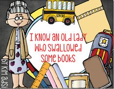 I Know An Old Lady Who Swallowed Some Books