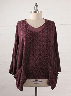 Shop Plus Size Bohemian Clothing Johnny Was Round Neck Top    We believe beautiful clothing can be made for every woman, from the the petite to the plus size. That is why Johnny Was has plus size bohemian clothing.    Pls Visit: http://www.johnnywas.com/clothing/plus-sizes.html