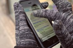 Stylish Touchscreen Gloves