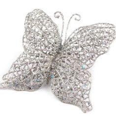 Luxusní dekorace ve tvaru motýla