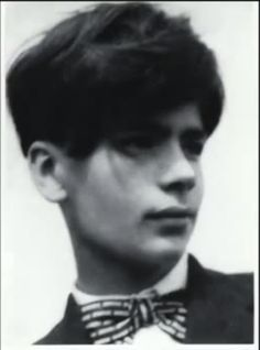 A young Karl Lagerfeld