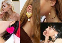 výrazné srdiečkové náušnice Pearl Earrings, Fashion Outfits, Pearls, Clothes, Jewelry, Outfits, Pearl Studs, Clothing, Jewlery