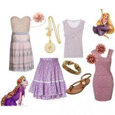 Rapunzel Disney Outfits - via @kennymilano