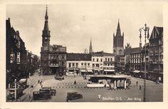 Rynek (Ring / Marktplatz / pl. Maciejewskiej), Bytom - 1942 rok, stare zdjęcia